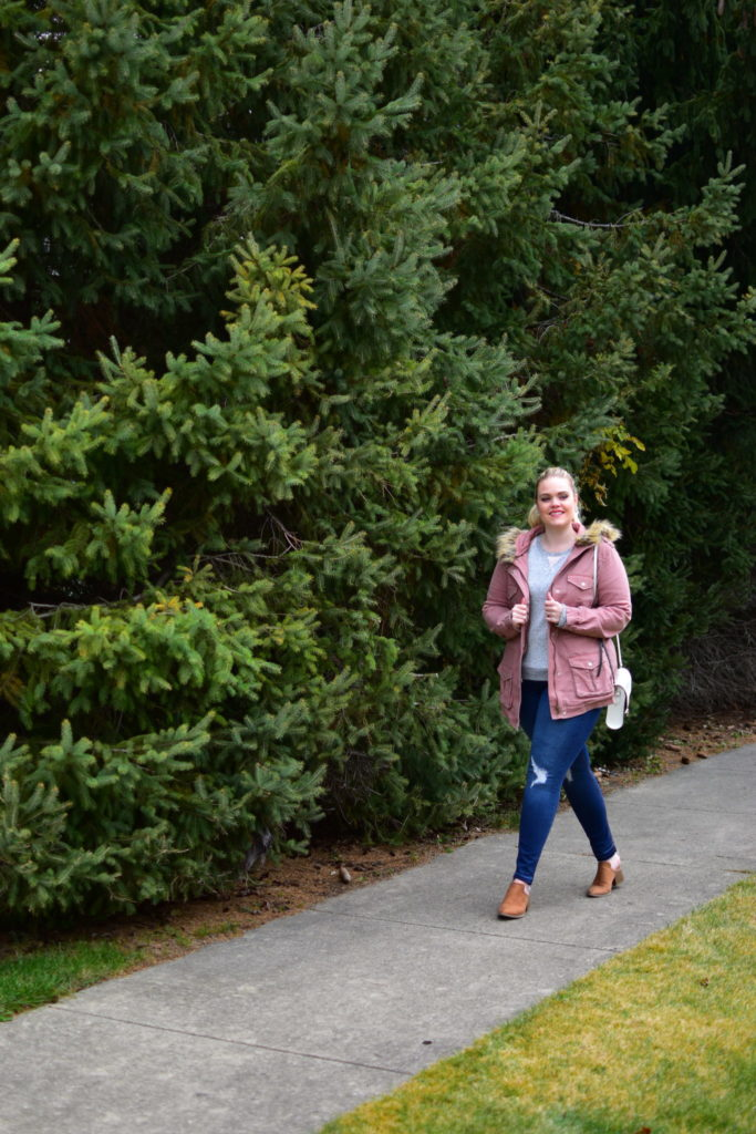 Finding Fall Favorites with Stitch Fix - Hooded Jacket and Jeans