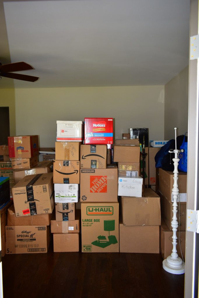 the initial state of our living room